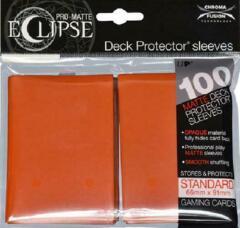 Ultra Pro - Sleeves: PRO-Matte Eclipse Standard Deck Protector Sleeves Orange