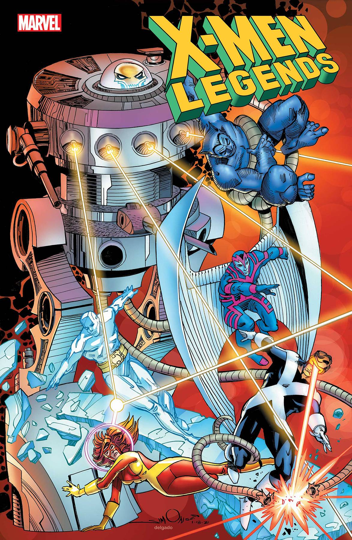 X-Men: Legends #4 Cover A