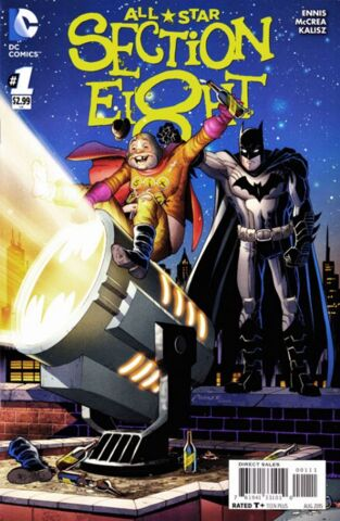 Comic Collection: All-Star Section Eight #1 - #6