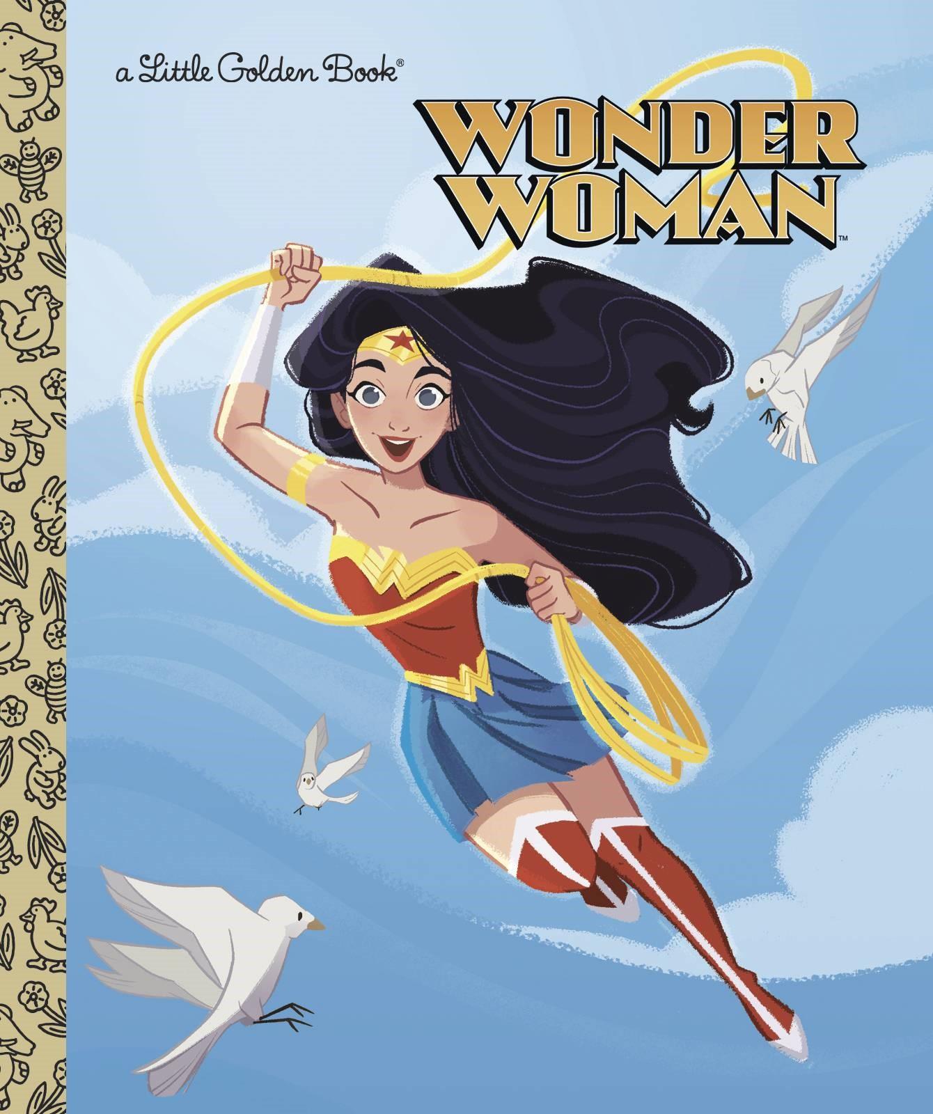 Wonder Woman Little Golden Book HC