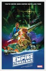 Star Wars - The Empire Strikes Back: 40th Anniversary #1 Cover B Movie Poster Variant