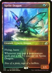 Sprite Dragon - Foil - Dark Frame Promo Pack