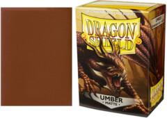 Dragon Shield Matte Standard-Size Sleeves - Umber - 100ct
