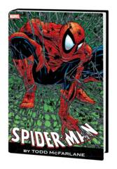 Spider-Man By Mcfarlane Omnibus HC Red/Blue Costume Cover