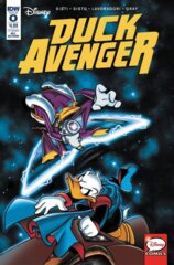 Comic Collection: Disney's Duck Avenger #0 - #2