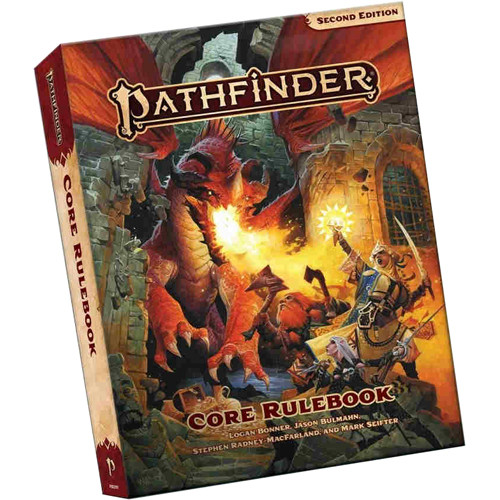 Pathfinder Roleplaying Game - Core Rulebook - Second Edition (Pocket Edition)