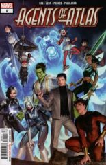 Comic Collection: Agents of Atlas Vol 3 #1 - #5