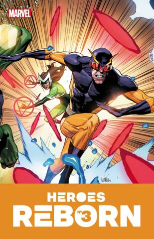 Heroes Reborn #3 (of 7) Cover A