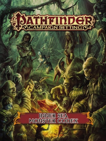 Pathfinder Campaign Setting: Inner Sea Monster Codex