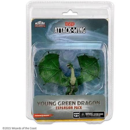 D&D Attack Wing: Young Green Dragon