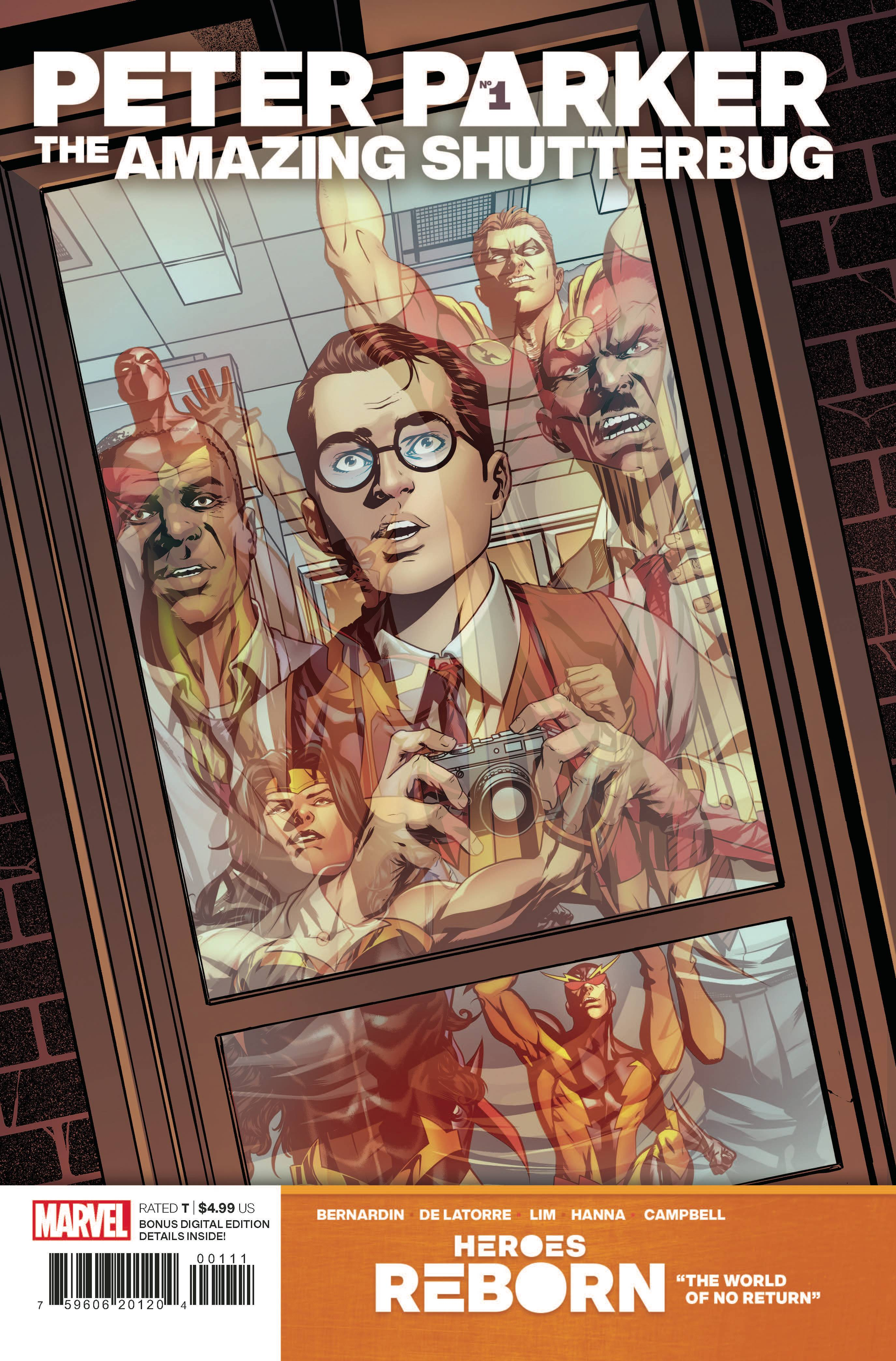 Heroes Reborn: Peter Parker - Amazing Shutterbug #1 Cover A