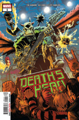 Comic Collection: Death's Head #1 - #4