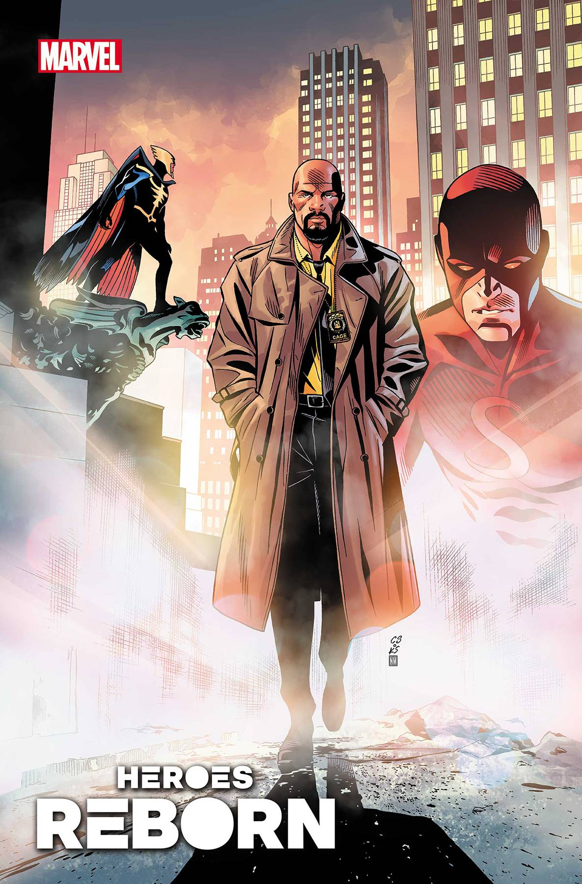Heroes Reborn: American Knights #1 Cover A