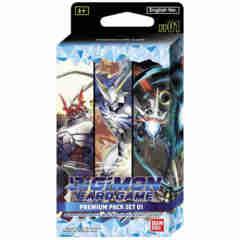 Digimon Card Game - Premium Pack Set 1 Display (PP01)