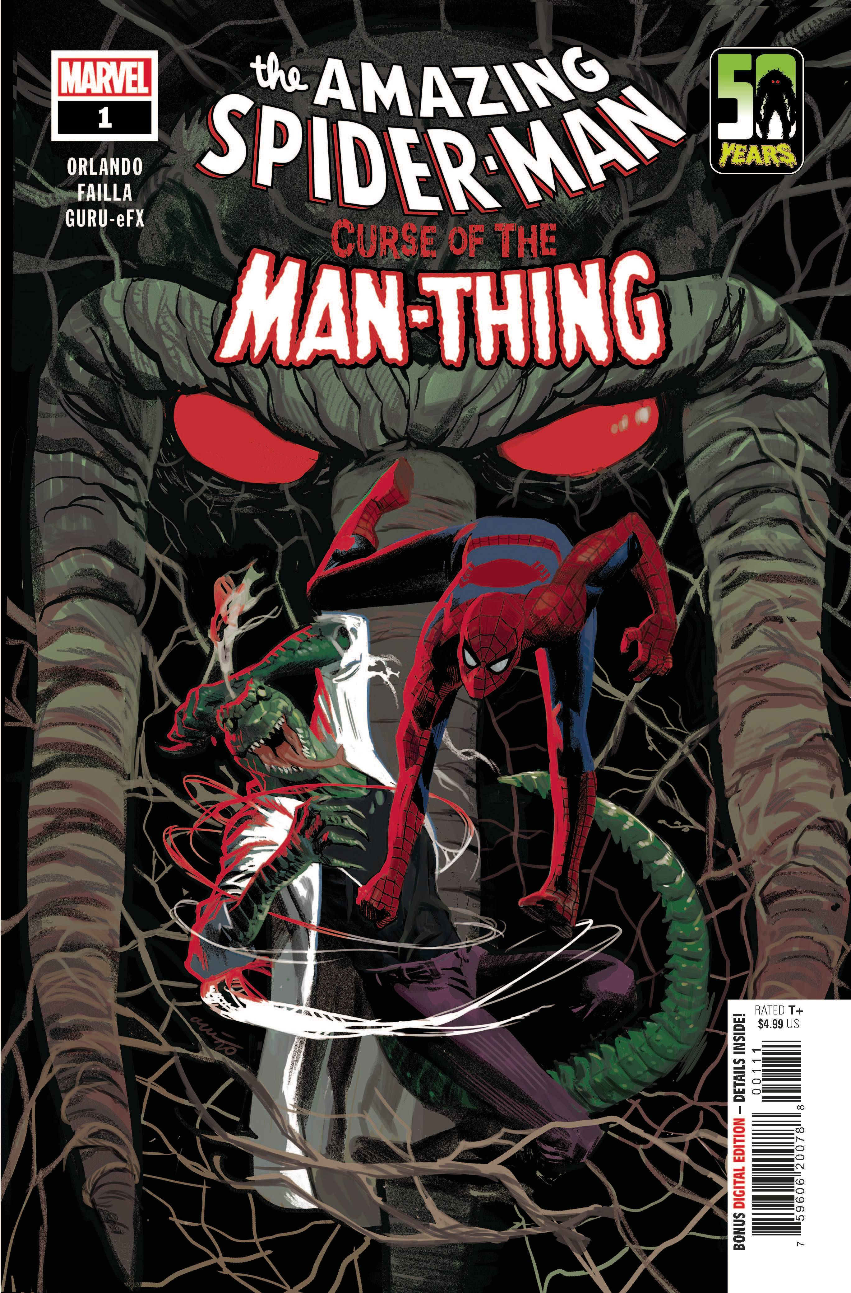Spider-Man: Curse of the Man-Thing #1 Cover A