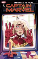 Marvel Action: Captain Marvel (2021) Vol 3 #3 Cover A
