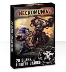 Necromunda: Blank Fighter Cards