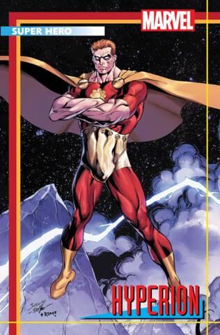 Heroes Reborn #2 (of 7) Bagley Trading Card Variant
