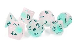 Sirius Dice Set - Frosted Glowworm
