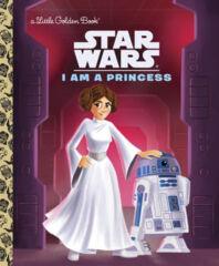 Star Wars I Am a Princess Little Golden Book HC
