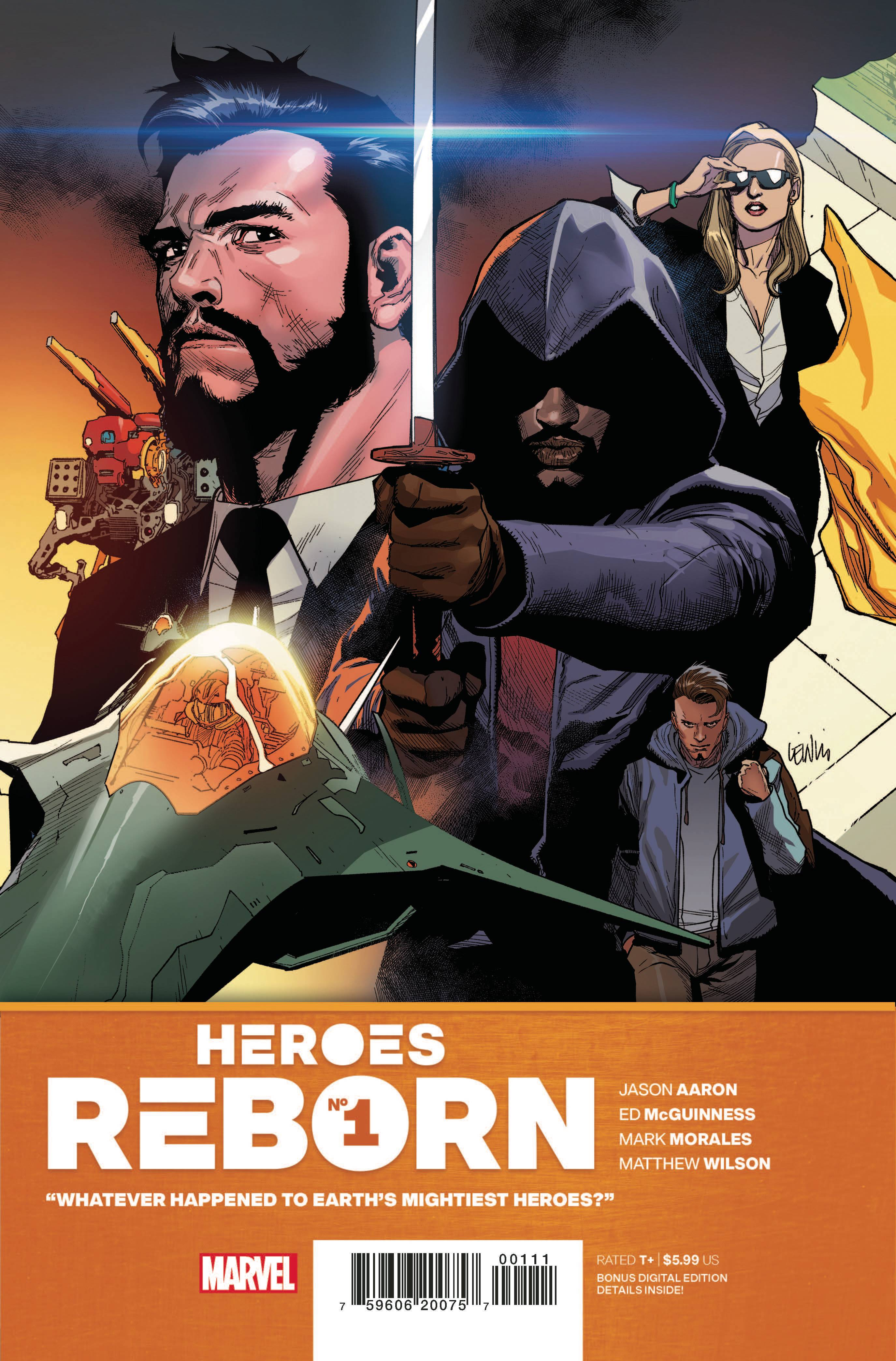 Heroes Reborn #1 (of 7) Cover A