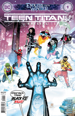 Teen Titans: Endless Winter Special #1 Cover A