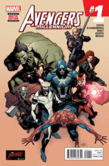 Comic Collection: Avengers Millenium #1 - #4