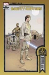 Star Wars: Bounty Hunters #13 Cover B Sprouse Lucasfiilm 50th Anniversary Variant