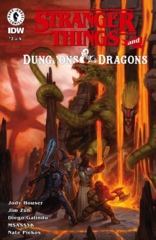 Stranger Things D&D Crossover #2 (of 4) Cover A