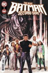 The Next Batman: Second Son #1 (of 4) Cover A