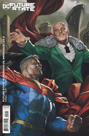 Future State: Superman vs Imperious Lex #2 (of 3) Cover B Skan Variant