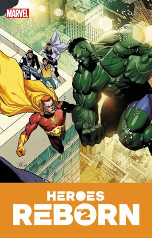 Heroes Reborn #2 (of 7) Cover A