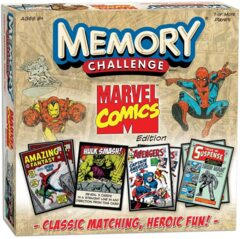 Marvel Comics Memory Challenge Match Game
