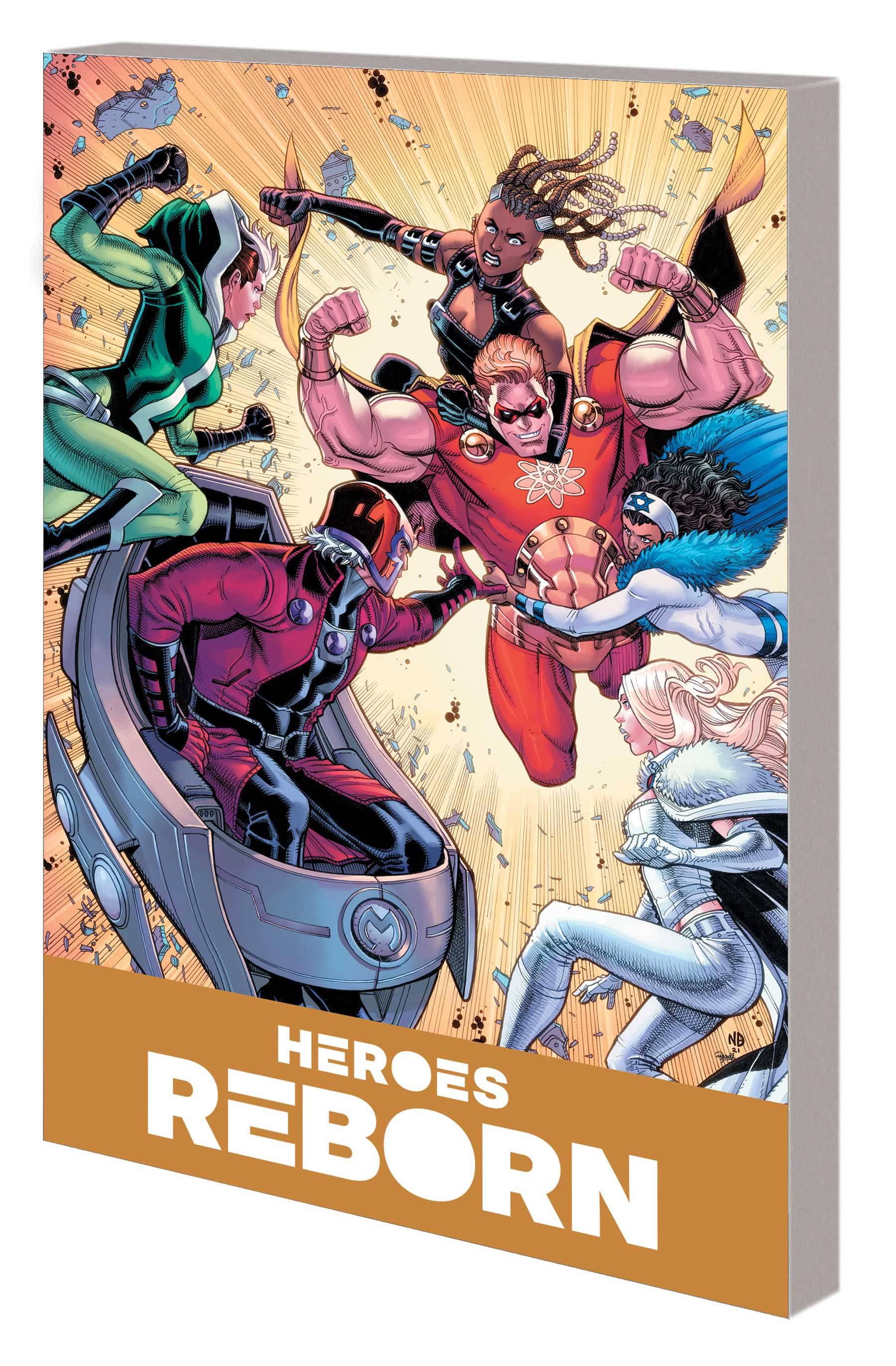 Heroes Reborn: America Mightiest Hero Companion Vol 01 TP