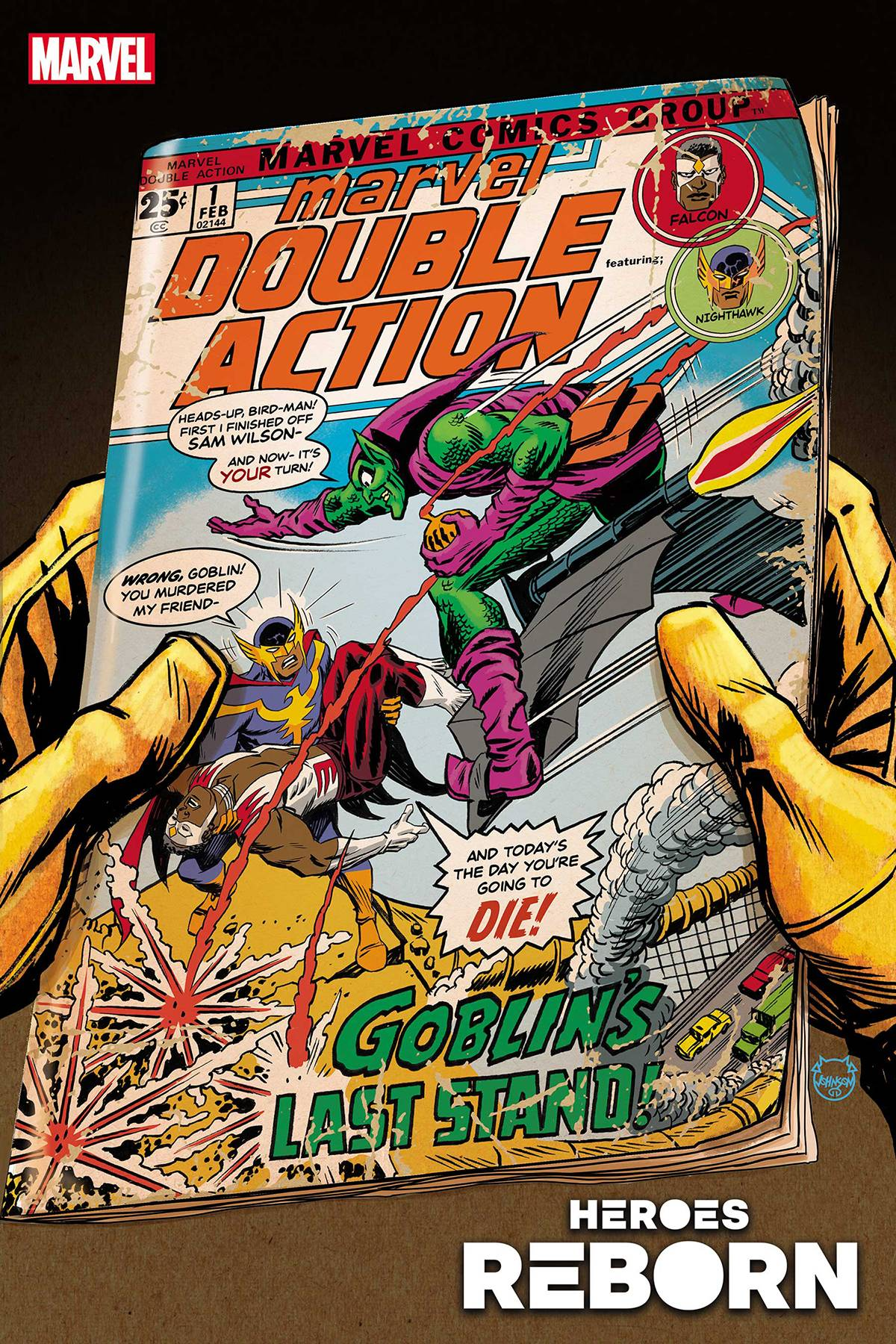 Heroes Reborn: Marvel Double Action #1 Cover A