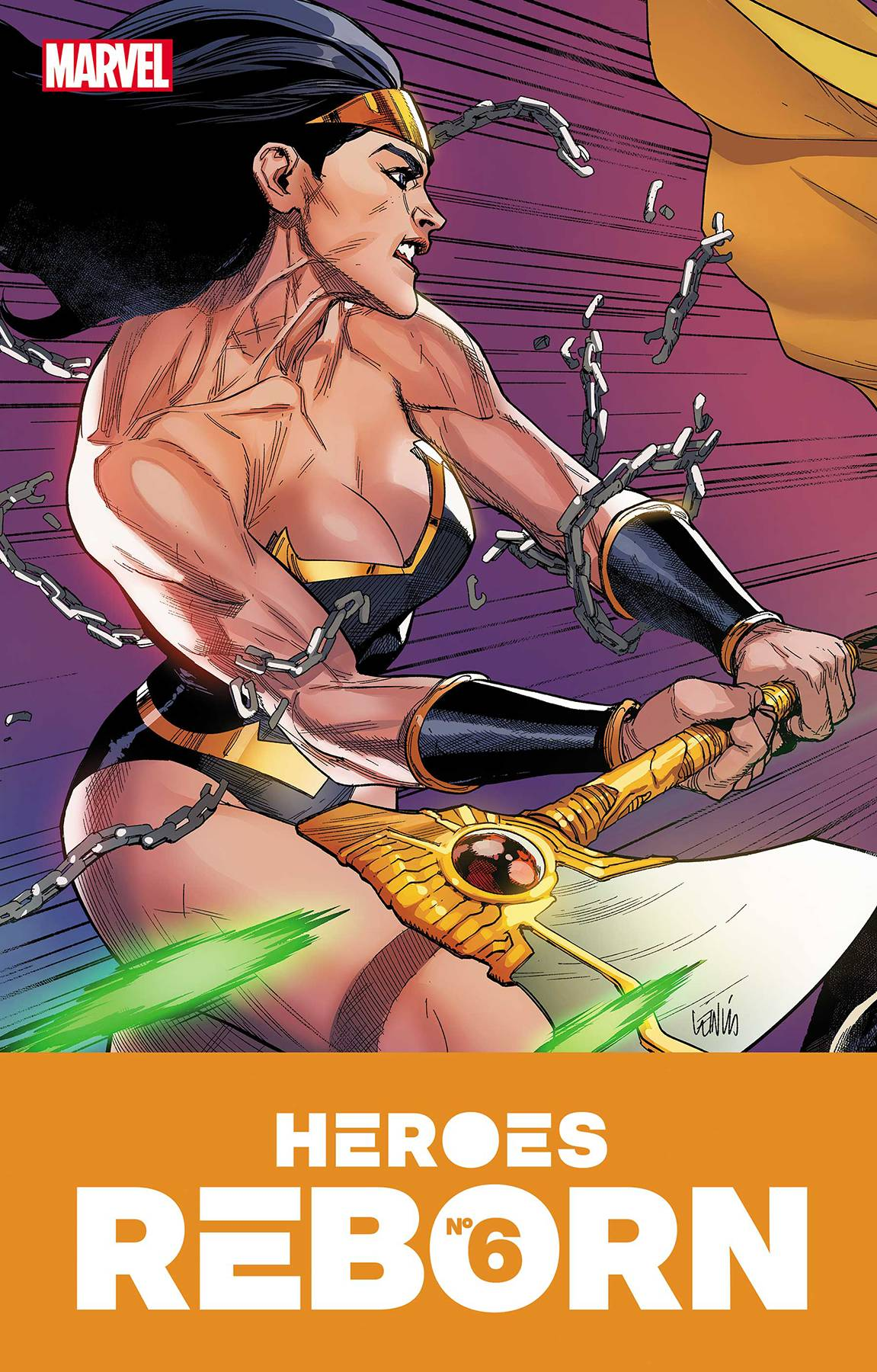 Heroes Reborn #6 (of 7) Cover A