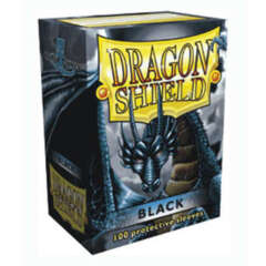 Dragon Shield Standard-Size Sleeves - Black - 100ct