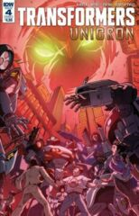 Transformers: Unicron #4 (of 6) Cover A