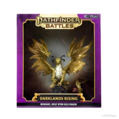 Pathfinder Battles Miniaturess: Darklands Rising - Mengkare Great Wyrm Premium Set