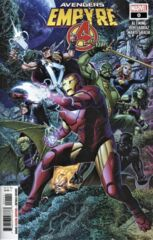 Empyre: Avengers #0 Cover A