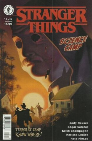 Stranger Things: Science Camp #1 (of 4) Cover A