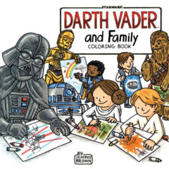 Darth Vader and Family Coloring Book SC