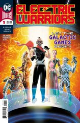Comic Collection: Electric Warriors #1 - #6