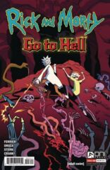 Rick and Morty: Go to Hell #3 Cover A