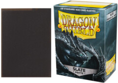 Dragon Shield Matte Standard-Size Sleeves - Slate - 100ct