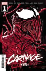 Comic Collection: Carnage: Black, White & Blood #1 - #4