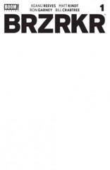 BRZRKR #1 Cover C Blank Variant