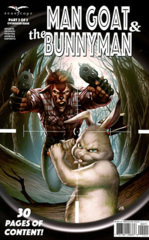 Man Goat & The Bunny Man #2 (of 3) Cover A
