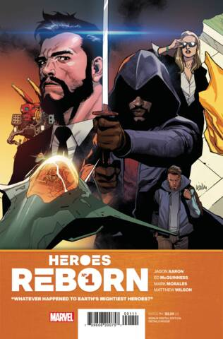 Comic Collection: Heroes Reborn - Full Set of 18