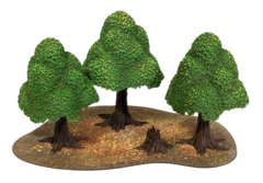 Monster Scenery: Painted Trees - Verdant Forest